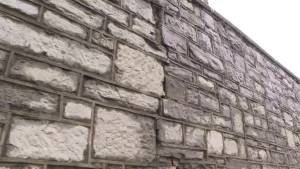 Fort Frontenac wall causing problems for pedestrians (02:05)