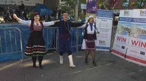 Taste of the Danforth: Greek dancing