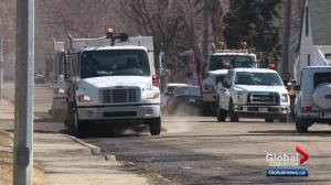 Sweeping crews coming to an Edmonton street near you