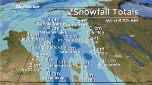 Saskatoon weather outlook: snow slams back into Saskatchewan