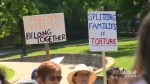 Haligonians gather to protest family separations in the United States