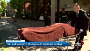 Police investigating after man fatally shot in apartment building near Dundas and Sherbourne