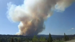 B.C. crews tackle wildfire near Logan Lake