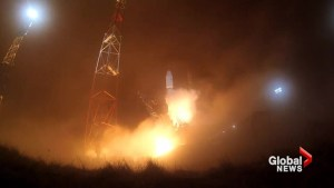 Russian Soyuz rocket puts military satellite in orbit after similar rocket failure in early October