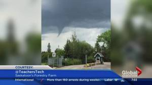 Weather alerts ended just as funnel clouds formed over Saskatoon