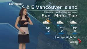 B.C. evening weather forecast: Apr 20