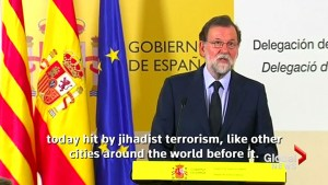Spanish PM says Barcelona attack a result of 'jihadist terrorism'