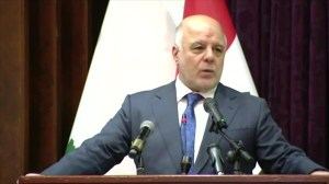 Iraq prime minister declares end to fight against ISIS, lands 'liberated' from ISIS gangs