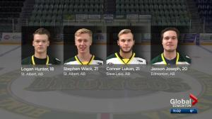 St. Albert gala held to honour Humboldt Broncos killed in bus crash