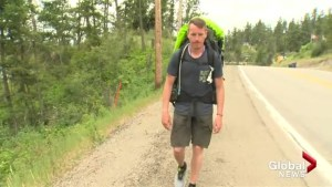 BC man sets out on foot across Canada to honour missing and murdered indigenous women