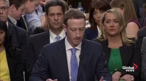 Zuckerberg takes responsibility for Facebook data breaches