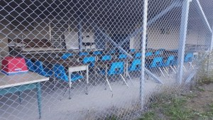 Nanaimo school under fire for caged classroom