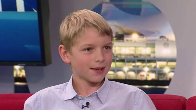 Watch 13 year old boy pushes b c government to expand for Single 13 year old boys