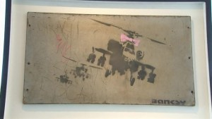 Iconic Banksy pieces expected to post $500K at auction