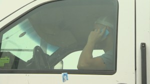 Distracted driving patrol ride along