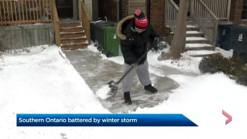 Winter Storm Southern Ontario: Southern Ontario Pummeled By Winter Storm