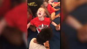 Police investigating after video shows sobbing cheerleaders being forced to do the splits