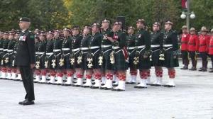 Stirring bagpipes as Canada remembers Cpl. Nathan Cirillo and Warrant Officer Patrice Vincent