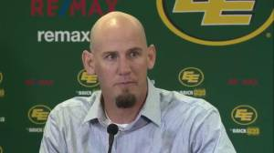 'That's the guy to go after': Edmonton Eskimos head coach on QB Trevor Harris