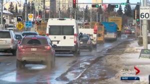 Edmonton looking at 'smart' traffic lights