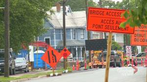 Major road construction in Fredericton causing increase in traffic congestions, closures