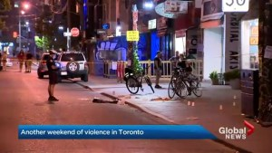 Holiday weekend filled with gun violence in Toronto
