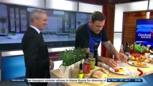 Chuck Hughes's father's day meal ideas