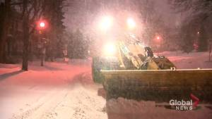 The biggest storm of the year so far has hit Quebec (01:29)