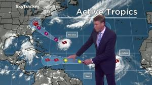 Two storms brewing in the Atlantic