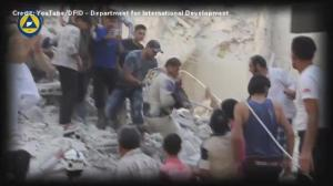 Supporting Syria conference opens with gut-wrenching video montage