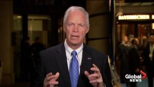 Ron Johnson 'shares concerns' over Trump's national emergency declaration (00:55)
