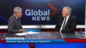 Bill Blair offers his thoughts on the pot legalization rollout
