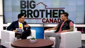 Damien on evicted from the Big Brother Canada house
