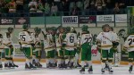 Final moments of Humboldt Broncos season opening game