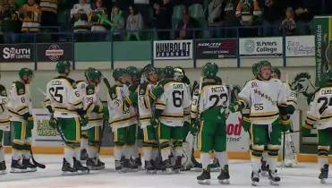 446d08ae25d WATCH ABOVE: It was an emotional season opening game for the Humboldt  Broncos on Sept. 12, 2018, as they faced off against the Nipawin Hawks.