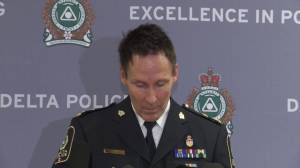 Delta police give update on stabbing outside elementary school