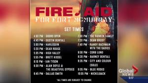 Fort McMurray Fire Aid concert one day away