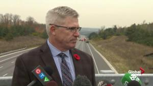 Have to look at clearing crashes quicker: OPP Commissioner on Hwy 400 crash