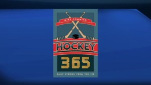 "Great hockey moments with the book ""Hockey 365"""