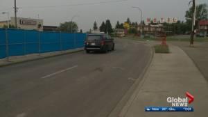 Allendale Road westbound lanes reopen after large void found underground