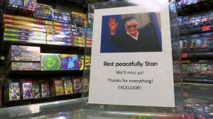 'One of the greats': Comic book fans mourn Stan Lee