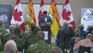 Defence minister announces new program at CFB Gagetown
