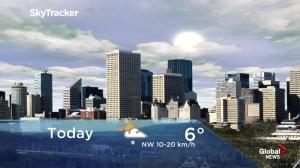 Edmonton early morning weather forecast: Tuesday, April 2, 2019