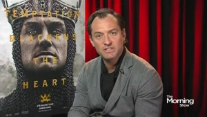 Jude Law on King Arthur and joining the Harry Potter universe