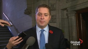 Conservative leader Andrew Scheer announces Tony Clement has resigned from caucus