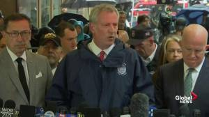 Bill de Blasio: No indication helicopter crash was an act of terror