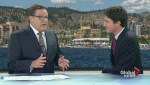 Justin Trudeau visits Global Okanagan