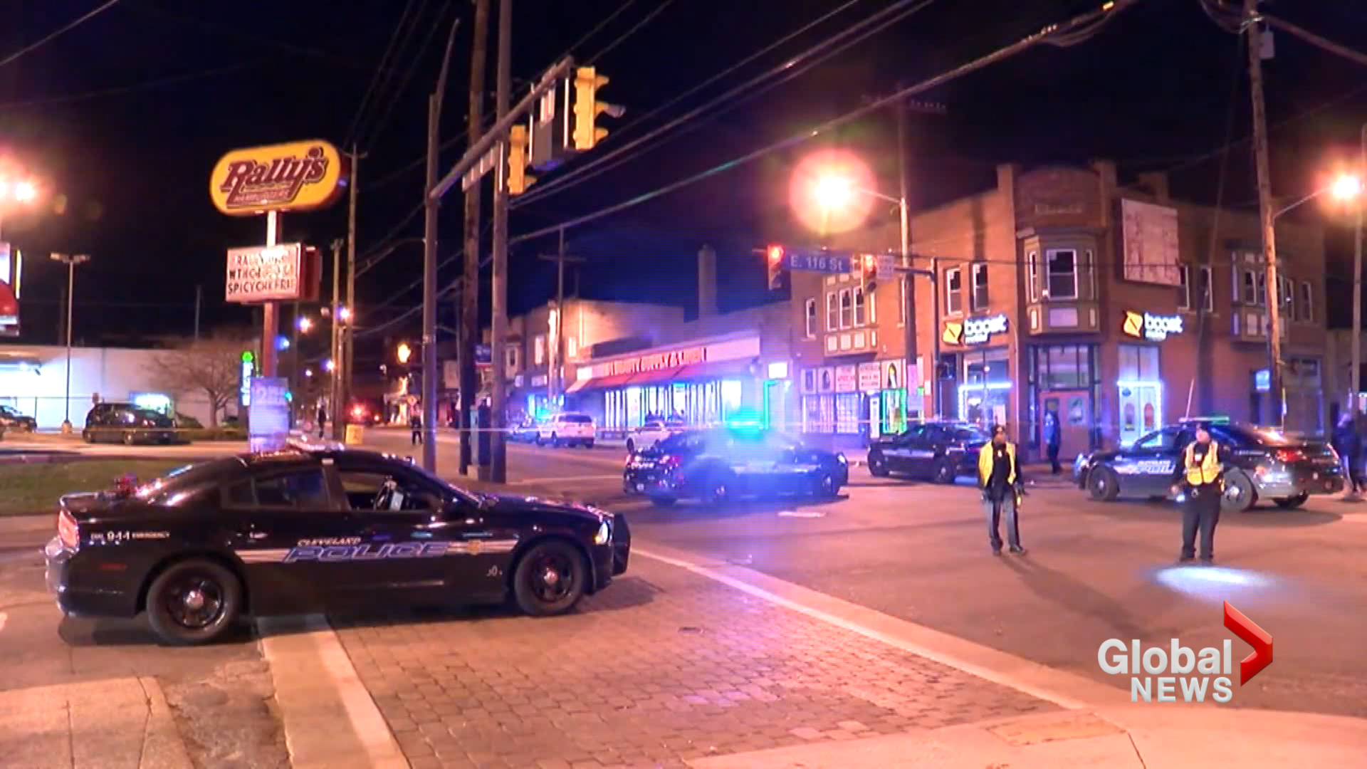 1 child killed, 5 others injured after street shooting in Cleveland