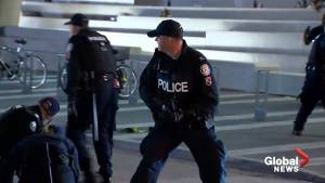 Dramatic footage shows Toronto police responding to shooting during NBA Finals celebration