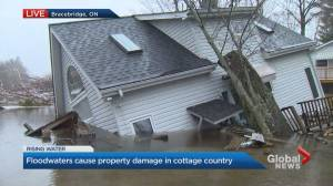 Bracebridge homeowner talks about flooding impact